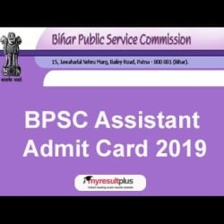 BPSC Admit Card 2019 Released for Assistant Exams