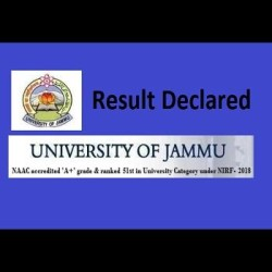 Jammu University Result 2018 Declared for Various Semesters