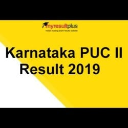 Karnataka PUC II Result 2019 Declared, Overall Pass Percentage Increased by 2.15%