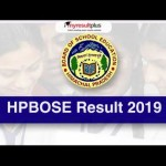 LIVE UPDATE: HPBOSE 10th Result 2019 Declared, Atharv with 98.71 Tops the Exam