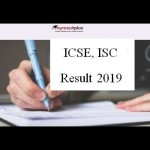ICSE, ISC Result 2019 To Be Declared Today
