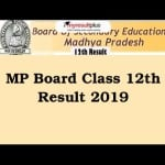 MP Board 12th Result 2019 Can Be Downloaded with These 5 Simple Steps