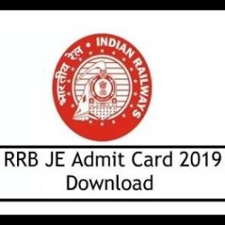 RRB JE Admit Card 2019 Released, Here are the Simple Steps to Download