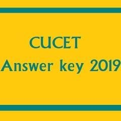 CUCET Answer Key 2019 to Release Today, Check Details Here
