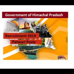 Government of Himachal Pradesh Inviting Applications for 1194 Patwari Post