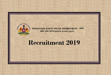 Karnataka State Police Invites Applications for Police Sub Inspector Post