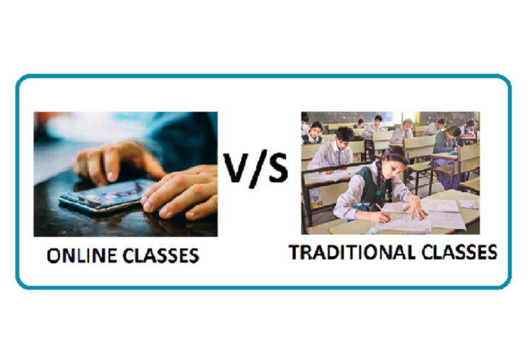 Online vs offline English learning