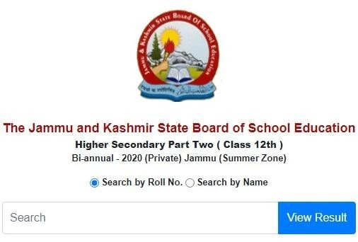 JKBOSE 12th Bi-Annual Result 2020 for Jammu Summer Zone Declared, Check Direct Link