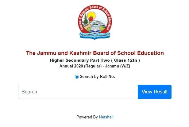 JKBOSE Class 12th Result 2020 for Jammu Winter Zone Declared, Check Here