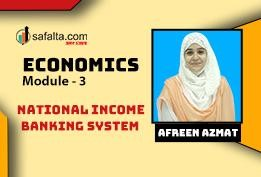 National Income and Banking Systems: Banking and SSC
