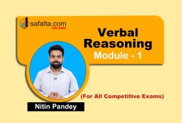 Verbal Reasoning: Banking and SSC