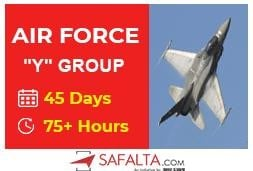 "Airforce ""Y"" Group - 45 Days Crash Course"