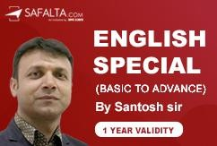 ENGLISH SPECIAL - MASTER COURSE (1 Year Validity)