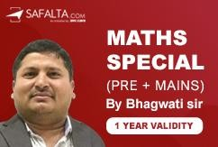 MATHS SPECIAL - MASTER COURSE (1 YEAR VALIDITY)