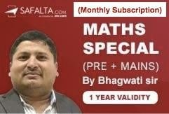 MATHS SPECIAL - MASTER COURSE (Monthly Subscription)
