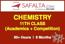Chemistry 11th Class - (NCERT + Competition) - Online Batch