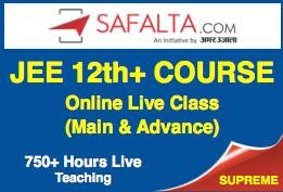 LIVE ONLINE COURSE FOR 12th PASSED – JEE (MAIN & ADVANCED)
