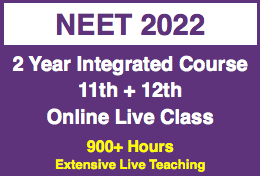 NEET (UG) - 11th & 12th Online Live Integrated Program