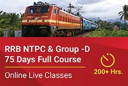 RRB NTPC & Group -D - 75 Days Full Course