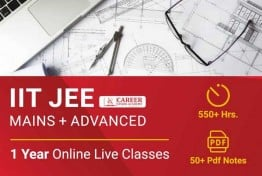 1 Year 11th 12th Integrated Program - IIT JEE (Main & Advance)