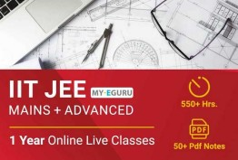 Full Year Course For JEE Mains & Advanced 2021 ( IIT- JEE 2021 )