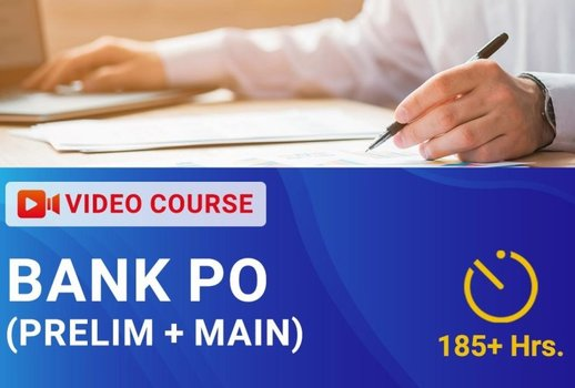 BANK PO - (Prelim + Main) Video Course