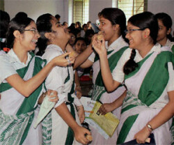 Record 19 students bag first 10 positions in WBHS exam
