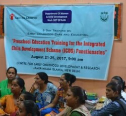 JMI Conducts Training Programme for Child Development Project Officers