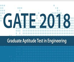 GATE 2018: Registrations Open, Apply Now