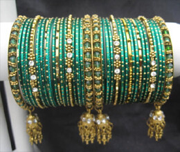 importance of green bangles in hariyali teej