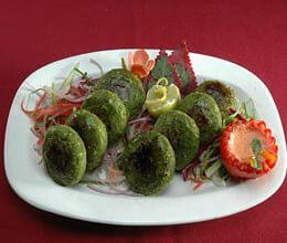 green pea kebabs