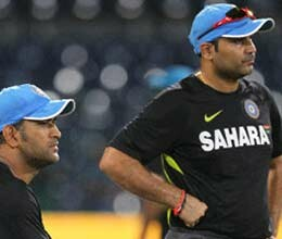 return pressure on team india