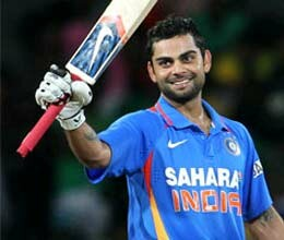 one inning of virat kohli creates many records