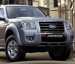 new ford endeavour in mid august