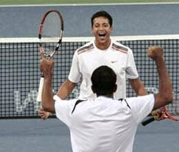 bhupathi bopanna in paris masters tennis quarter finals