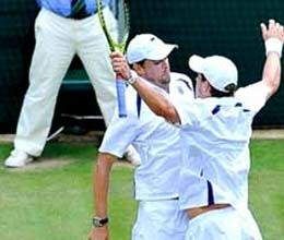 bryan brothers record 50th wimbledon match win