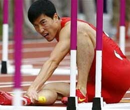 liu xiang repeated beijing sad story