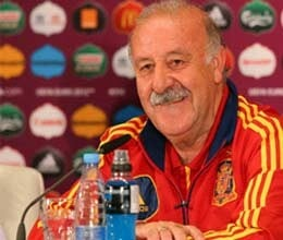 del bosque hails great era of spanish football