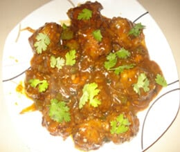 mix vegetable manchurian recipe