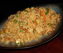 recipe of pineapple chicken fried rice