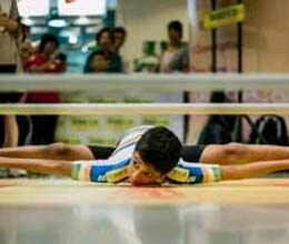 indian child made world record in roller skating