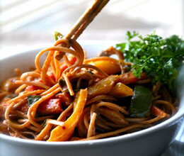 recipe of spicy mix szechwan noodles