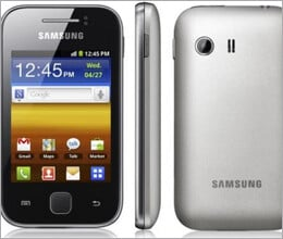 samsung galaxy y for youth