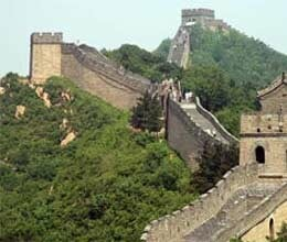 great wall of china demolished
