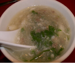 chicken mushroom egg drop soup recipe