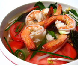 hot and sour prawn soup recipe