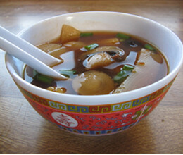 mushroom hot and sour soup recipe