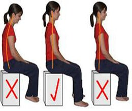 keep yourself fit with right postures
