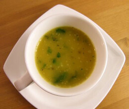 lemon corriander spinach soup recipe