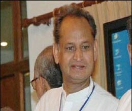 Kejriwal and Ramedv should Provide name of funding agency says Gehlot
